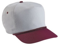 Budget Caps | Cobra-5-Panel 100% Polyester (For Sublimation)