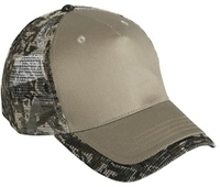 Cobra-5 Panel Camo Edge Visor Mesh Back