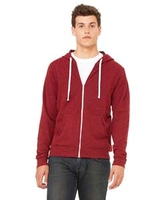 Canvas Unisex 8.2 oz. Triblend Full Zip Hoodie