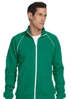 Canvas Men's 7.5 oz Piped Fleece Jacket