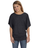 Bella Ladies 3.7 oz. Flowy Draped Sleeve Dolman T-Shirt
