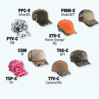 8 Pcs. Basic-Camo Sample Pack