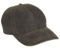 Cobra-6-Panel Weathered-Washed Cap