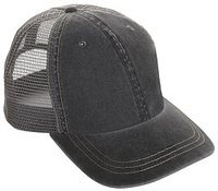 Cobra-6-Panel Weather-Washed Cap with Soft Mesh Back