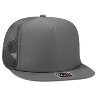 Budget Caps | Otto-Foam Front Flat Visor High Crown Golf Style Mesh Back