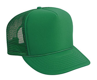 Otto-Budget Caps Youth Polyester Foam High Crown Golf Style Mesh Back