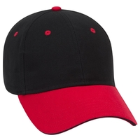 Image Blank Caps   Otto_Brushed Cotton Twill Sandwich Visor Low Profile