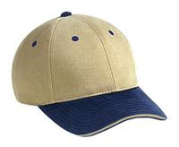 Image Blank Caps   Otto-Brushed Cotton Twill Sandwich Visor Low Profile Pro Style
