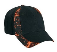 Image Otto-Camouflage Piping Design Brushed Cotton Twill Cap