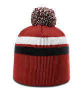 Richardson Pom Pom Stripe Beanie