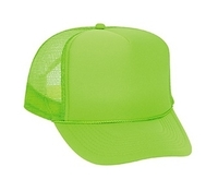 Image Otto-Budget Caps Neon Polyester Foam Front Golf Style Mesh Back