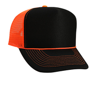 Image Otto-Neon Polyester Foam Front High Crown Golf Style Mesh Back
