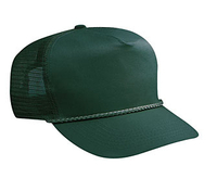 Image Budget Caps Otto-Cotton Twill High Crown Golf Style Mesh Back