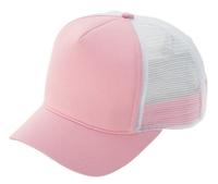 Budget Caps   Mega Ladies Fashion Trucker Cap with Short Bill