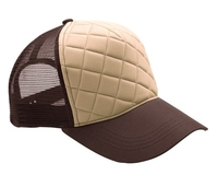 Budget Caps | Mega Fashion Quilted Trucker Cap