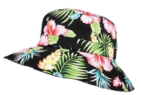 Mega Ladies' Wide Brim Floral Bucket Hat