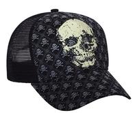 Mega Pro Style Fitted Mesh Skull Cap
