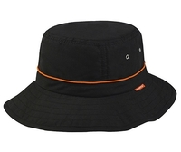Mega-Juniper Taslon UV Bucket Hat w/ Adjustable Draw String