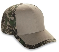 Cobra-6-Panel Cotton Twill Camo Cap