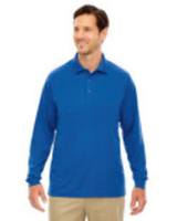 Ash City - Core 365 Men's Pinnacle Performance Long-Sleeve Piqué Polo