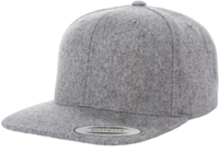 Yupoong-Melton Wool Adjustable Snap Back