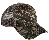 Cobra-5 Panel 100% Cotton Twill/Mesh Back Camo