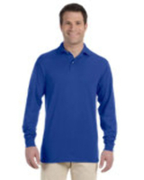 Jerzees 5.6 oz., 50/50 Long-Sleeve Jersey Polo