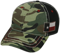 Outdoor Camo with Flag