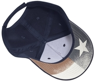 Cobra 5 Panel Brushed with USA under Bill