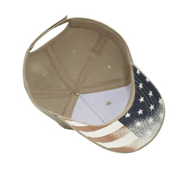 Cobra 5 Panel Brushed with USA under Bill copy