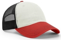 Richarson Tri-Colored Garment Washed Trucker Mesh