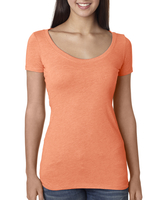 Next Level Ladies' Triblend Scoop Tee