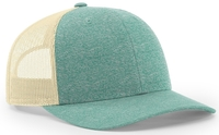 Image Richardson Low Profile Heather Trucker Cap