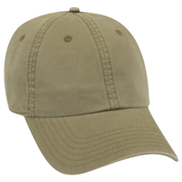 Garment Washed Lightweight Cotton 6 Panel Low Pro Dad Hat