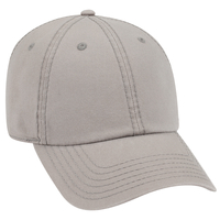 Garment Washed Cotton Canvas Six Panel Low Pro Dad Hat