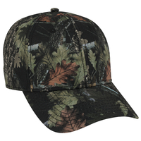 Image Otto Camouflage Superior Polyester Twill Six Panel Low Pro