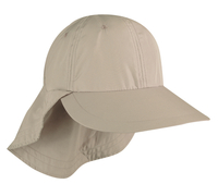 Outdoor Long Visor Closed Back with Drawstring Cap