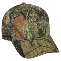 Outdoor Camo Structured Mesh Back Plastic Snap Cap