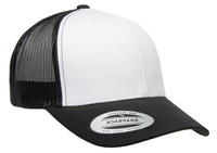 Yupoong 6 Panel Trucker White Front