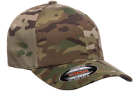 Yupoong Flexfit Multicam Camo 6 Panel Cap