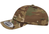 Yupoong Multicam Camo Cotton Twill Cap