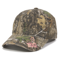 Outdoor Ladies Fit 6 Panel Realtree Cap