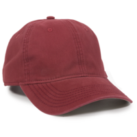 Image Outdoor 6 Panel Cotton Twill Leather Strap Closure Cap