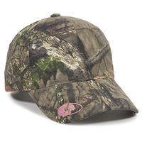 Outdoor 6 Panel Ladies Fit Mossy Oak Logo On Visor