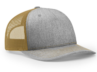Richardson 5 Panel Trucker Twill Mesh Snapback