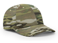 Richardson 6 Panel R-Flex Multicam Cap
