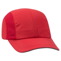 Image Otto Six Panel Textured Polyester Reflective Sandwich Running Cap