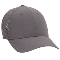 Image UPF 50+ Cool Comfort Stretchable Knit Perforated Back 6 Panel Low Profile