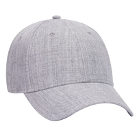Image Heather Wool Blend 6 Panel Low Profile