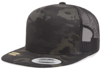 Yupoong Flat Bill Classic 5 Panel Trucker Camo